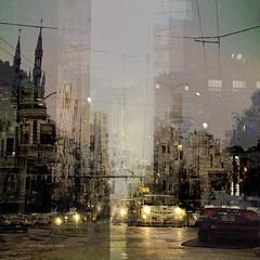 Crossing Limbo (Stacy Ann Young) Tags: digitalart photocomposite digitalpainting sanfrancisco dreamart cityscape