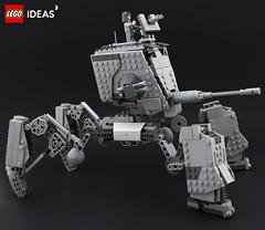 AT-MAW (DeadGlitch71) Tags: lego starwars atmaw atst space mech mecha imperial army tank artillery scifi scfi allterrain walker photography