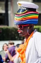 Vendedor ambulante (olgapepe) Tags: vendedor ambulante colores gorros monos capitán valencia fallas españa spain hats nikon d7000