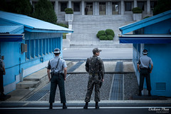 Lingering tensions (gunman47) Tags: 2016 asia dmz jsa joint korea korean north panmunjom rok republic security seoul september south truce village area demilitarized guard soldier zone pajusi gyeonggido southkorea