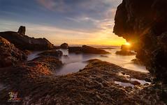 Heartfall Arises (Jose Hamra Images) Tags: melasti tanahlot batubolong indonesia bali denpasar sunset sunrise seascape rock rocks landscape longexposure