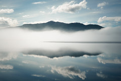duplexity (Fine Detail Films) Tags: sony raw mirrorless availablelight manual zeiss 35mm f28 fe za lightroom manualprocess cinematic splittone blue colour mountains clouds canimlake britishcolumbia dreamscape visions hyperreality art fineart arttrumpsmoney