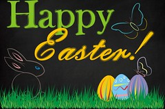 Happy Easter to Everyone (Egreske) Tags: insect world butterfly insekt welt schmetterling happyeaster easter easteregg egg holiday happyholidays bunny easterbunny coreldraw corel vector spring colors chalk chalkdraw chalkboard