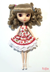 [For adoption]Handmade dress (Fidjie) Tags: foradoption pullip doll handmadeclothes starks junplanning charlie stica