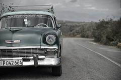 Chevrolet (Cuba). (Carlos Arriero) Tags: santiagodecuba cuba chevrolet car coche oldcar carlosarriero nikon d800e tamron 2470 f28 dof bokeh carretera road travel viajar vehículo cocheantiguo