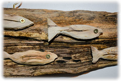 Woodwork (Nicolas Valentin) Tags: fish driftwood wood creation art handmade scotland