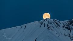 ~ Full moon time / Monday 13.03.2017 ~ (SteffPicture) Tags: mond moon fullmoon 14032017 steffpicture mountain schnee schneeberge lenk lenksimmental snow myswitzerland berg switzerland schweiz simmental