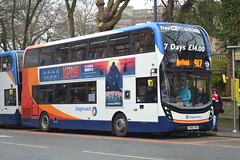Stagecoach Merseyside & South Lancashire 10575 SN16OTM (Will Swain) Tags: liverpool 12th march 2017 bus buses transport travel uk britain vehicle vehicles county country england english city centre north west stagecoach merseyside south lancashire 10575 sn16otm