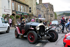 1923 BENTLEY - Hawes, York (Jungle Jack Movements) Tags: yorkshire dales national park 1923 bentley tourer bd 8354 york hawes marhet street england great britain united kingdom gb uk car auto automobile vehicle motor saloon classic collectible veteran vintage rare beautiful carbie carburettor fast driver drive speed brake forward reverse spin wheel exhaust loud rumble registered bitumen paint seat hood engine litre cubic inches hp bhp horsepower drag brakes gear gears shift clutch tour touring bonnet transport pride british