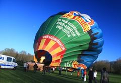 Hot air balloon (Mishimoto) Tags: hot air balloon burner inflating alphen