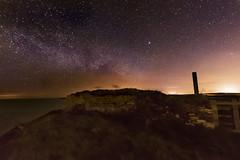 milky way padstow2 (surfage) Tags: nikon d5300 tokina 1116 kernow cornwall seascape shoreline stars milkyway galaxy motherivyes bay coastal path long exposure astrophotograpy