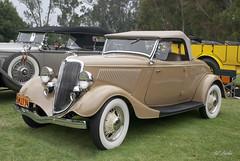 1934 Ford Roadster (Pat Durkin OC) Tags: 1934ford roadster tan beige whitewalltires spokewheels stock