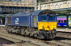 Direct Rail Services Class 66 66427 (LVNWtransFoto) Tags: train railway carlisle canoneos1dmkiv directrailservices class66 66427 locomotive diesel