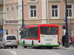"Mercedes Conecto LF Euro 6, #9008, ""Warbus"" Warszawa dept Lublin (transport131) Tags: bus autobus ztm lublin mercedes conecto lf warbus"