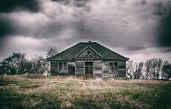 """Dark Days Ahead""-Abandoned North  Dakota (j_piepkorn65) Tags: school oneroomschoolhouse abandoned abandonednorthdakota rural ruralexploration ruraldecay maza"