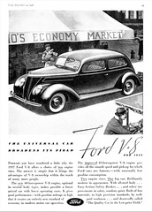 1937 Ford V-8 Tudor Sedan (aldenjewell) Tags: 1937 ford v8 tudor sedan ad