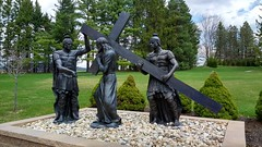 Stations of the Cross, The National Shrine of Divine Mercy (brooksbos) Tags: brooks brooksbos love family son stockbridge catholic