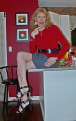 DSCF8640 (Rachel Carmina) Tags: cd tv ts tg trap tgirl trans transgender femme femboi crossdresser transvestite heels