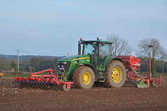 John Deere 7930 Tractor with a HE-VA Front Roller 400, an Amazone Power Harrow & Kverneland Accord S-Drill Seed Drill (Shane Casey CK25) Tags: john deere 7930 tractor heva front roller 400 amazone power harrow kverneland accord sdrill seed drill jd green fermoy sow sowing set setting drilling tillage till tilling plant planting crop crops cereal cereals county cork ireland irish farm farmer farming agri agriculture contractor field ground soil dirt earth dust work working horse horsepower hp pull pulling machine machinery grow growing nikon d7100 tracteur traktor traktori trekker trator ciągnik spring barley