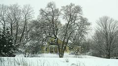 Last Snow Scene of the Season (Flapweb) Tags: addison vermont snow