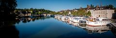 Briare Harbour (Dan Guimberteau) Tags: france port harbor boat canal harbour centre dordogne bateau lareunion plaisance briare aquitaine loiret nikond90 departementsdoutremer