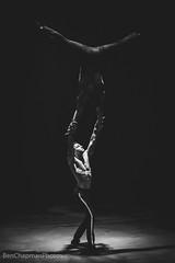 Hippodrome Circus, Gt Yarmouth (BenChapmanphoto) Tags: blackandwhite bw man male men monochrome muscles canon dark mono costume lowlight artist circus norfolk sigma spotlight september acrobatics acrobat balance gt yarmouth fullframe performer greatyarmouth 70200 leotard highiso skill hippodrome canon5dmkiii sigma70200mmf28apoexdgmacroii