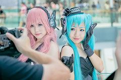 Cosers (Jimmy Chuah) Tags: portrait anime lady singapore comic cosplay coser 2014 marinabaysands marinabaysand stgcc