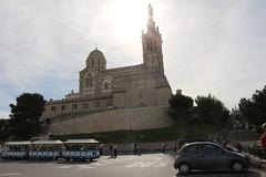 Notre-Dame de la Garde au soleil (So_P) Tags: france church de la marseille iglesia kirche notredame chiesa notre dame glise garde basilique