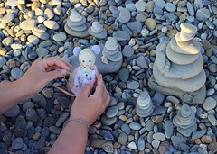 Vacations,2014 (Shirrstone Shelter dolls) Tags: road trip travel sea vacation dog fish plant tree nature rock stone train insect glasses walk explorer wave palm