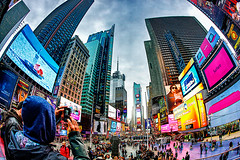 © EndYmioN – Damien Guyon. Tous droits réservés - Paysage / Landscape (endymionphoto) Tags: nyc newyorkcity light urban building landscape photographer damien timesquare paysages endymion photographe guyon unusualviewsperspectives endymionphoto