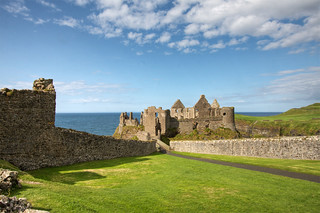 Dunluce Castle, view from Lodging