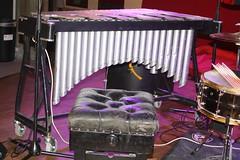 Xylophones, Gongs, etc. [Percussive Idiophones] 44: Vibraphone (of Stephen Burke) (KM's Live Music shots) Tags: musicalinstrument vibraphone southbankcentre metallophone stephenburke idiophone hornbostelsachs vulaviel