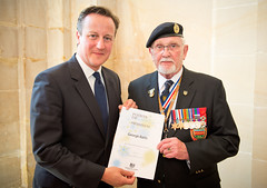 PM with George Batts (The Prime Minister's Office) Tags: pm primeminister downingstreet no10 davidcameron pointsoflight pointsoflightaward georgebatts ddayassocation