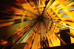 Going up (dip797) Tags: brussels blur belgium elevator atomium