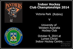 Robins V UWA u18g Indoor_ (1) (Chris J. Bartle) Tags: park girls hockey club october university centre under champs australia indoor victoria robins perth western panthers uni states xavier championships 18 vp 2014 uwa