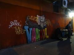 Graffitti - New York Chinatown (ashabot) Tags: street streetart newyork night chinatown cities wallart graffitti streetscenes nycchinatown nightandshadows