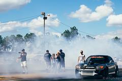 Smoked crowd (ahh.photo) Tags: cars racetrack honda florida rubber fujifilm burnout v8 dragracing s2000 slicks xt1 xf56mmf12r brandentonmotorsportspark fl2k14