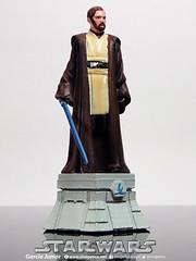 "Star Wars Obi Wan Kenobi (Garcia ""Imagética"" Junior) Tags: starwars yoda chess disney collection darthvader skywalker xadrez miniaturas coleção guerranasestrelas estatuetas planetadeagostini"