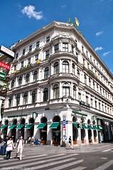 Vienne, Wien, Vienna (Graffyc Foto) Tags: vienna wien 2 coffee austria nikon foto starbucks anton f28 rolex vienne autriche 2014 1755 d300 krntnerstrasse bucherer gmbh haban graffyc