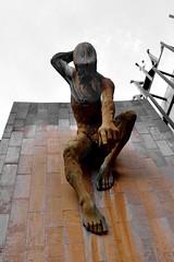 River god Tyne (johnpaulwarwick) Tags: statue bronze river newcastle centre tyne civic