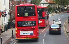 London Central WVL358 on route 422 Charlton 18/10/14. (Ledlon89) Tags: bus london buses transport londonbus tfl