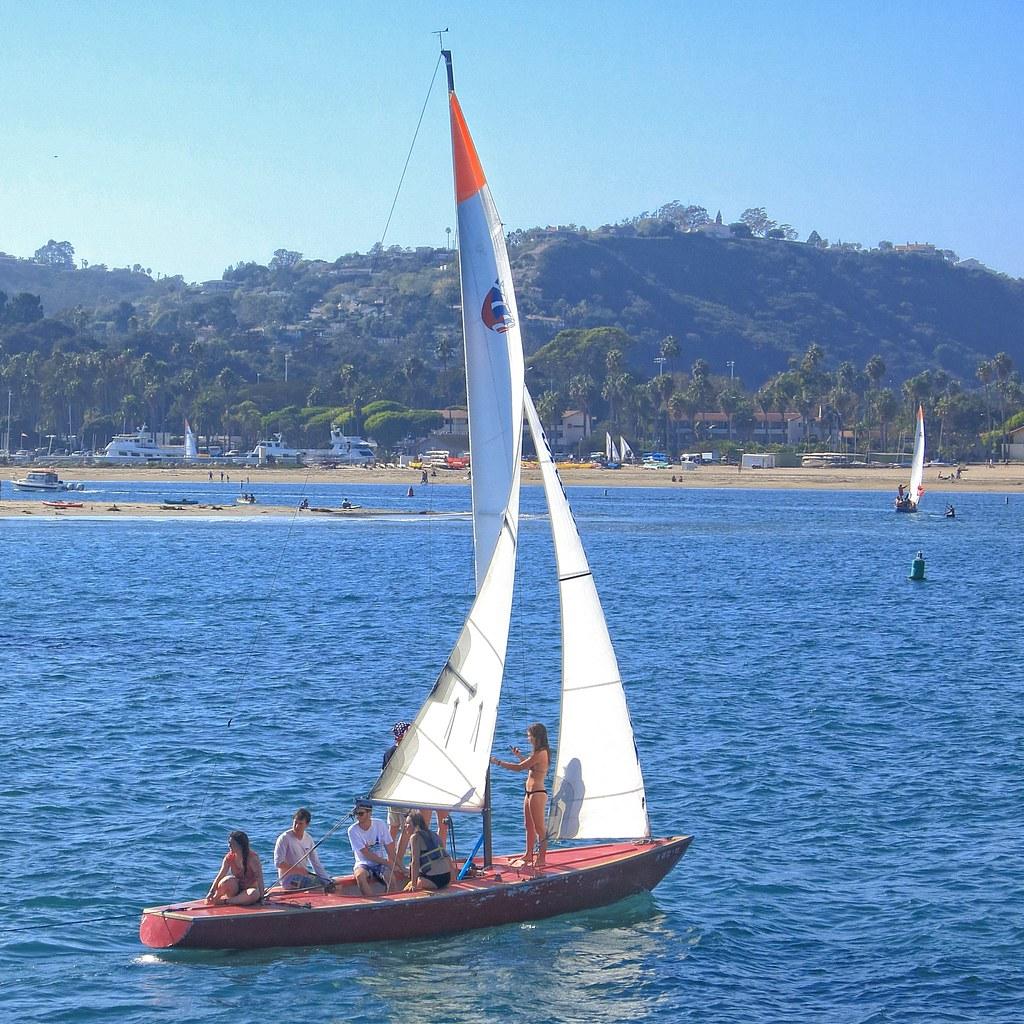Brunette in a yacht - 2 6