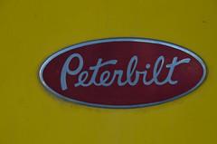 Peterbilt (earthdog) Tags: truck word nikon sanjose badge peterbilt 2014 walkingdistance 1802000mmf3563 d5100 nikond5100