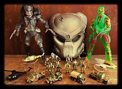 Predator 1987 (Solitude is preferred) Tags: toys collection predator micromachines necapredator toysfromthe90s micromachinespredator predatorplayset galoobpredator predatoractionfigures