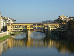 P1040915 (ferenc.puskas81) Tags: bridge italy river march florence europa europe italia fiume ponte tuscany firenze arno toscana marzo 2012 vecchio