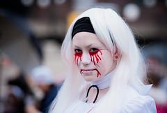 Zombie walk MTL (lavoi70) Tags: halloween monster fuji mtl zombie walk s5 zombiewalk