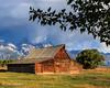 1409_GrandTeton_283.jpg (JudiJac) Tags: mountains wyoming grandtetons 2014 antelopeflats grandtetonswyoming mormonbarn