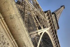 WIDOMSV: The Eiffel Tower (G-daddyArt) Tags: paris france eiffeltower polarizer hdr