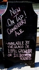Cranberry ale (Will S.) Tags: ontario canada beer beers ale cranberry brewery mypics brewpub trenton quinte microbrewery microbrews quintewest microbreweries ontariomicrobreweries ontariobeers ontariobeer quinteregion ontariomicrobrewery quintearea gatewaybrewingcompany cranberryale