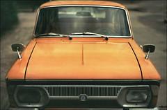 Иж (Towy-Yowy) Tags: auto film analog fuji 135 ussr авто fujifim energodar иж энерогдар